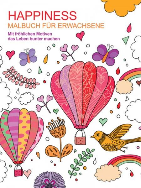 HAPPINES Malbuch für Erwachsene
