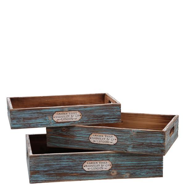 Holztablett Garden Tools BARNSLEY & Co. LONDON,