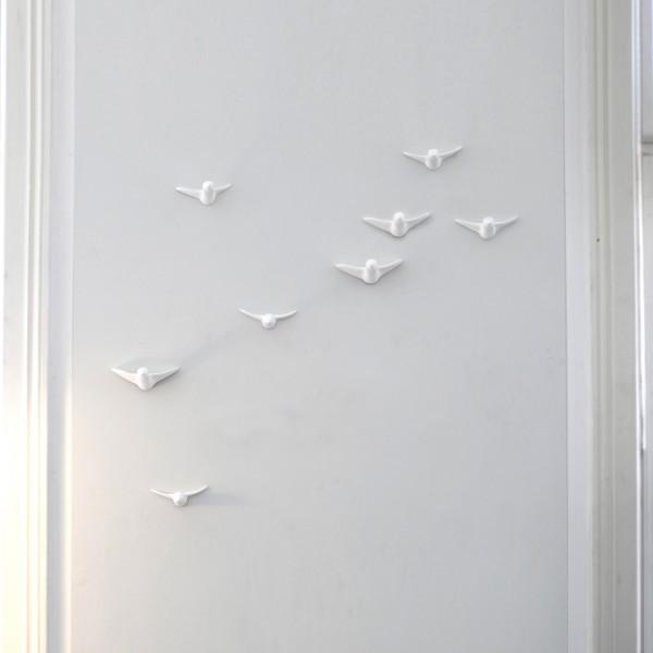 Großer Vogelschwarm