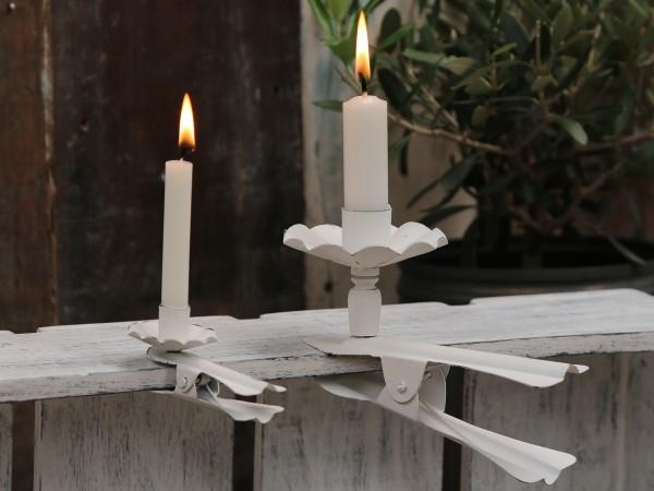 Klemm-Kerzenhalter für Mini-Stabkerzen