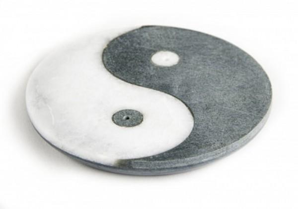 Ying-Yang Räucherstäbchenhalter