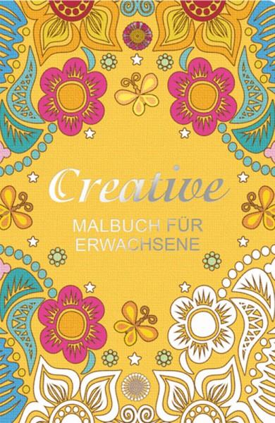 CREATIVE Malbuch für Erwachsene
