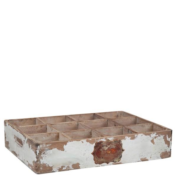 Holzkasten ROSE GARDEN mit 12 Fächern