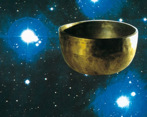 Tibetische Planeten-Klangschale - Jahreston (OM)