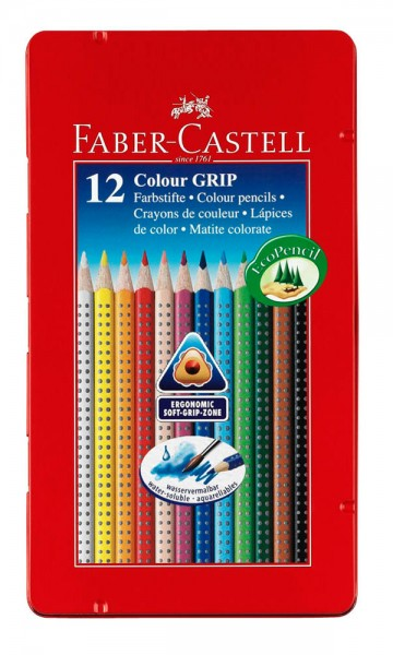 FABER CASTELL Farbstifte Colour GRIP