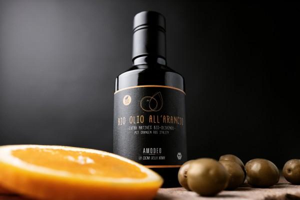 AMODEO BIO-Olio d´Oliva all´Arancio 250 ml