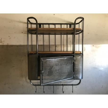wandregal fabrik 05 industrial industrial loft wohnen hanna martha wohnen leben. Black Bedroom Furniture Sets. Home Design Ideas