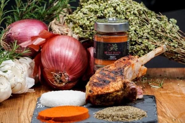 BBQ alla Salsiccia 95g - Grillgewürz mit Fenchel für Fleisch
